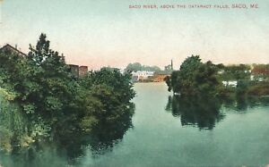 SACO ME – Saco River Above the Cataract Falls