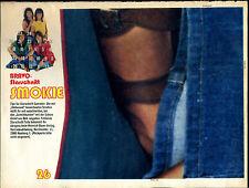 Bravo--Starschnitt-- SMOKIE  -- 1977 -- Teil  26 --