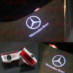 2x LED Projector Ghost Shadow Light Door Logo For Mercedes-Benz E-Class W212 213