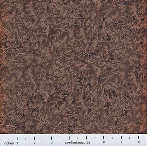 Fairy Frost BRONZE Copper Brown Blender Michael Miller Fabric By the FQ - 1/4 YD