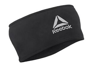 Reebok Running Headband Sports Band Black Tennis Hairband YOGA Bands RRAC-10126