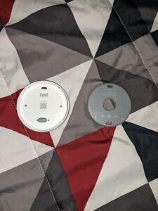 nest thermostat e smart device White