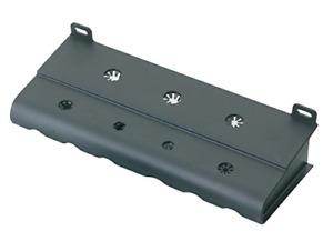Wera 05134001001 Rack for Kraftform Screwdrivers, Silver
