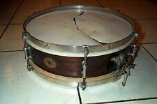 SLINGERLAND Vintage SNARE DRUM Duane Thamm Owned Percussion Antique