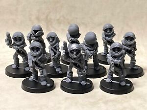 Space skeletons with boltguns for tabletop & roleplaying games