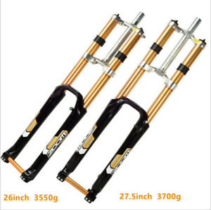 Durable downhill bike fork MTB 26/27.5'' suspension fork mountain bicycle Parts