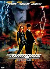 NEW DVD // The Avengers - Ralph Fiennes, Uma Thurman, Sean Connery