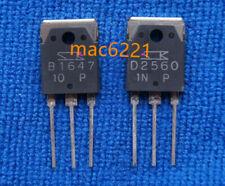 10 pairs (20pcs) original 2sb1647 & 2sd2560 disminuyeron transistor b1647 & d2560