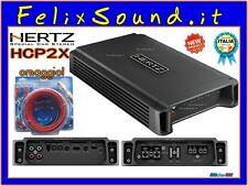 HERTZ HCP2X AMPLIFICATORE 2 CANALI 800W + kit Cavi DIETZ OMAGGIO