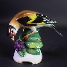 wunderschöner Rosenthal Vogel - signiert Theodor  Kärner
