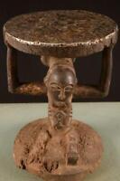 9149 Afrikanische Alte Luba Hocker DR Kongo Afrika