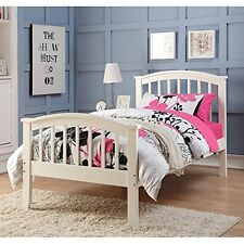 Twin Columbia Bed White 2014-Tw New