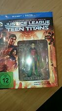 Justice League vs Teen Titans Blu Ray DC Comics Limited Edition + Figur Robin