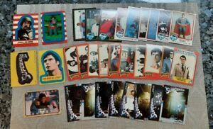 LOT of (32) Topps SUPERMAN The Movie & Drakes Cards