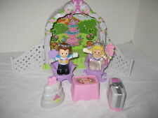 Fisher Price Little People Royal Garden Wedding With Accessories