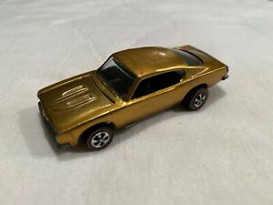 Hot Wheels Redline - Gorgeous Custom Barracuda in Gold with a brown interior!!!