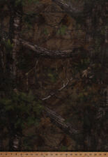 """60"""" Realtree Camo Leaves Polyester Mesh Camouflage Netting Fabric BTY A509.07"""