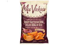 Miss Vickies Kettle Cooked Potato Chips SWEET SOUTHERN BBQ 220g CANADIAN FRESH