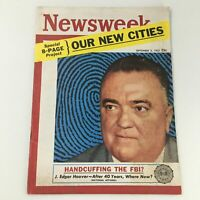 VTG Newsweek Magazine September 2 1957 FBI Director J. Edgar Hoover, Newsstand
