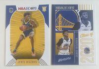 2020-21 James Wiseman RC Lot Panini NBA Hoops Rookie Card Class of 2020 Nm-Mint