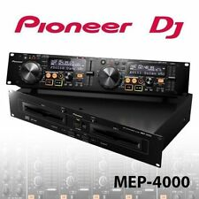 NEW  Pioneer MEP-4000 Dual-Channel DJ Media Player CD CD-R, CD-RW USB MEP4000