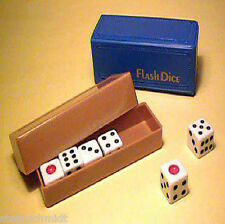 FIRE SALE Flash Dice EXAMINABLE Tenyo Magic BEST SELLER Trick WATCH VIDEO DEMO!