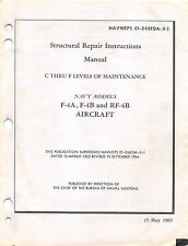 F-4 Phantom II Structural Repair Manual Flight Manual  (CD version)