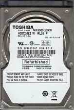 Toshiba MK5065GSXW HDD2H82 W RL01 F 500GB SATA A23-26