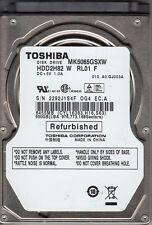 TOSHIBA mk5065gsxw hdd2h82 con RL01 F 500GB SATA a23-26