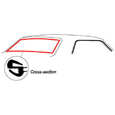 New 1967-1968 Mercury Cougar Backglass Weatherstrip