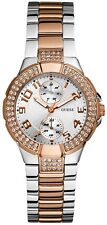 NEW** GUESS LADIES SWAROVSKI MINI PRISM GOLD WATCH- U13586L2 W15072L2 - RRP £169