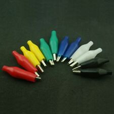 12 Piece Small Crocodile Clip Pack Assorted Colours