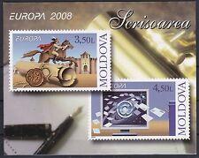 CEPT 2008/Moldavia MiNr 611/12 ** nel MH 12