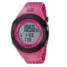 Soleus Rosa e Nero Orologio GPS Fit Running (SG100-611)