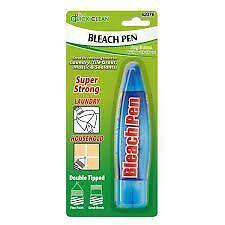 Bleach Pen Handy Laundry Kitchen Tile Grout Stain Remover Dirt Paint Cloth Craft