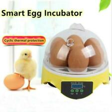 Mini incubateur a 7 oeufs Incubateur a volaille Ecloserie numerique de temperatu