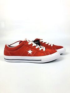 Converse One Star Ox Boys' Grade School Red/Red/White 658434C NEW