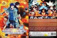 ANIME DVD Ao No Exorcist :Kyoto Fujouou-Hen(1-12End)Eng sub + With GIFT