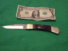 """vintage parker folding pocket knife USA 3&1/2""""blade nickle silver bolsters"""