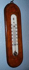 Ecole de Nancy ART NOUVEAU beau thermométre en marqueterie 1900's