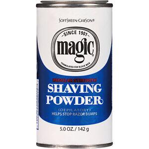 SoftSheen Carson Magic Regular Strength Shaving Powder 5 oz