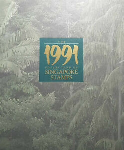 1991 The Collection Of Singapore Stamps (34 pcs different type)  #S1152