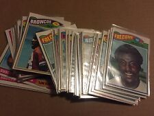 1977 Topps Football Complete Your Set You Pick 10 lot