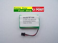 Ni-MH 3.6V 600mAh Rechargeable BT-446 Battery for Uniden Size approx 3xAAA AU