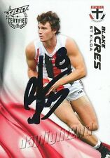 ✺Signed✺ 2016 ST KILDA SAINTS AFL Card BLAKE ACRES