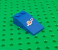 *NEW* Lego Blue 2x3x1 Gold Moon Slope Brick Benny Spaceship  x 1 piece