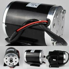 High Speed Dc Brushed Motor 24vdc 500w Electric Scooter Motor Mid Wheel Motors
