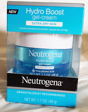 Neutrogena Hydro Boost gel-cream, Hyaluronic Acid, Extra-Dry Skin, 1.7 oz.