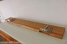 Wandboard Eiche Massiv Holz Board Regal Steckboard Regalbrett NEU auch auf Maß