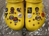 13 Kobe Bryant And Lebron James Lakers Shoe Charms For Crocs!